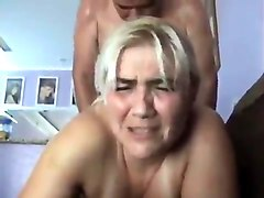 mature blonde getting her anal racion