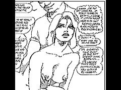 Insane sexual erotic submission comic
